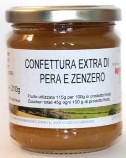 Confettura extra di Pera e Zenzero