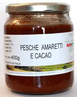 Pesche Amaretti e Cacao